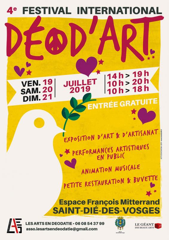 Affiche deodart 4 a4
